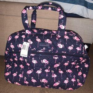 Vera Bradley Travel Bag Flamingo Pattern
